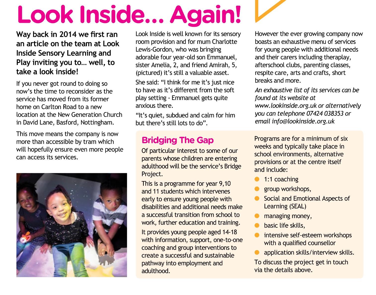 lookinside magazine article